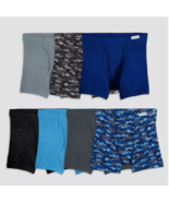 Fruit of the Loom Boys' 7-Pack Boxer Briefs, Size X-Large (New Without T... - $17.35