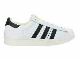 Mens Adidas Superstar Boost White Core Black Gold Metallic BB0188 - $79.98