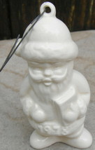 Vintage 1978 Goebel First Edition Annual Santa Claus Christmas Tree Ornament - $12.99