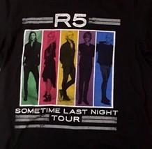 R5 En Algún momento Last Night 2015 CONCIERTO TOUR Negro Hombre Mediano - $9.98
