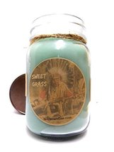 Sweet Grass 16oz All Natural Handmade Soy Candle - Wholesale Scented Can... - £11.17 GBP