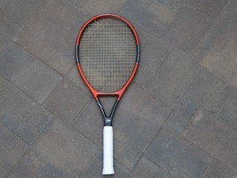DUNLOP VISION 110 TENNIS RACKET RACQUET MUSCLE WEAVE RESPONSE GROOVES SI... - $89.09