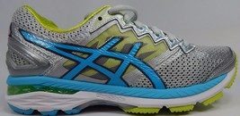 Asics GT 2000 v 4 Women's Running Shoes Size US 6 M (B) EU 37 Silver T656N
