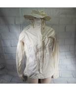 Columbia Jacket Women's Shell Off White Size M Medium - $26.72