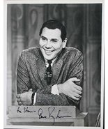 """Gene Rayburn (d. 1999) Signed Autographed Vintage Glossy 8x10 Photo """"For Steve""""  - $98.99"""