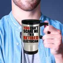 Electrician Retirement Gift Can't Scare Me I'm a Retired Electrician Tra... - £14.50 GBP