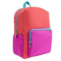 "BRAND NEW! Yoobi 17"" Standard Laptop Backpack - Coral Color"
