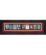 Iowa State University Officially Licensed Framed Campus Letter Art - $39.95