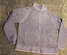 Men's Calvin Klein zip up cardigan grey L - $32.68