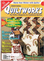 Back Issue of Traditional Quiltworks Magazine Issue 71 Quilt Crafts - $6.99