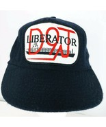 Liberator Shipping Vessel Boat D9T Wool Hat Cap Truckers Hat Vintage Blu... - $44.54