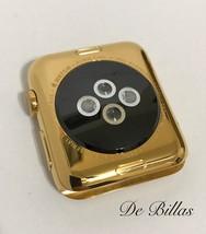 24 Karat Gold 42MM Apple Watch Stainless Steel Custom Body Only - $557.67