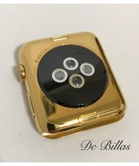 24 Karat Gold 42MM Apple Watch Stainless Steel Custom Body Only - $557.67