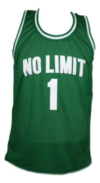 No limit  1 basketball jersey green   1
