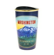 Starbucks Washington Mountain Nature Ceramic Traveler Tumbler Coffee Mug... - $65.84