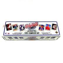 1991 Upper Deck MLB Baseball Cards Complete Factory Set (800 cards) - $19.99