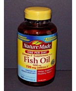 Nature Made Fish Oil 1200 mg 720 mg Omega-3 100 Softgels 01/2021 (H) - $17.81