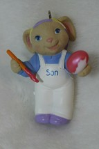 Hallmark Keepsake Easter Ornament Son 1994 Handcrafted Artist Painter De... - $19.79