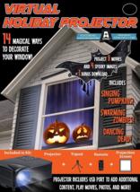 Halloween Mr. Christmas Indoor Virtual Holiday Projector - $206.76 CAD