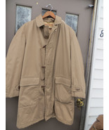 Vintage 60-70s McGregor hooded  Range Cloth Gabardine  toggle  Buttons h... - $65.00
