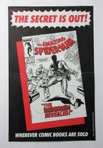 1986 Amazing Spider-man 289 Marvel Comics 17x11 inch promo poster:80's H... - $39.59