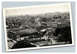 Vintage Early 1900's Postcard Aerial View McMinnville Oregon POSTED - $15.81