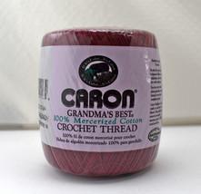 Caron Grandma's Best Cotton Crochet Thread - Burgundy - Size 10 - 350 Yards - $5.65