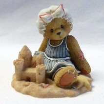 Cherished Teddies Figurine Sandy There's Room in My Sand Castle For You ... - $13.99