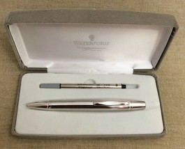 Waterford Writing Instruments Kilbarry Pen Grooved Platinum Convertible ... - $98.99