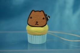 Bandai TRYWORKS Capybara-san Kapibarasan Figure Strap Cupcake - $11.99
