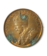 1918 1c Canada Large One Cent Penny KM#21 Bronze - $9.89