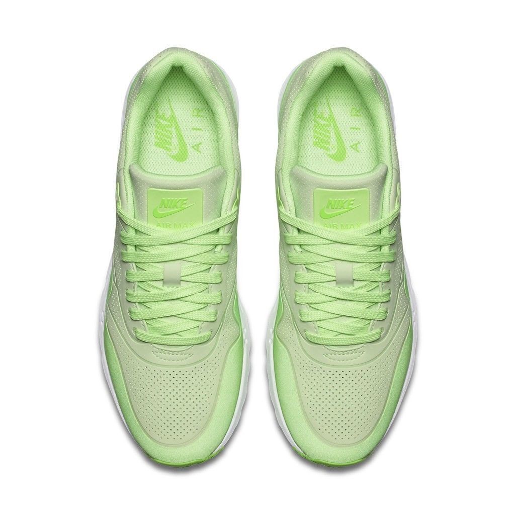 Nike Women's Air Max 1 Ultra Moire Shoes NEW AUTHENTIC Ghost Green 704995-302 image 3