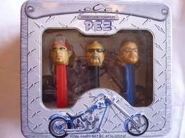 Limited Edition 2006 Orange County Choppers PEZ Dispenser Set in Gift Tin - $16.61