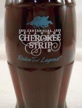 Full Cherokee Strip Oklahoma Centennial 1893- 1993 coca cola bottle  - $3.99