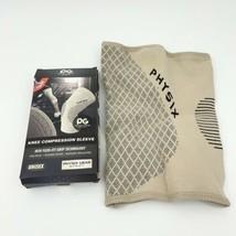 Physix Gear Knee Support Brace - Best No-Slip Knee Brace Tan Beige XXL 2... - $14.20