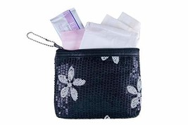 Menstruation Kit - First Period Kit to-go! Period Starter Kit with All Natural P