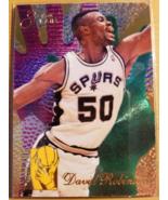 David Robinson 1994-95 Flair Rejector #6 San Antonion Spurs The Admiral - $8.00