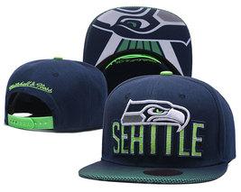 Seattle Seahawks football team fan flat hip hop baseball cap gift for fans - $31.99