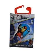 """Iron Man SuperSled Kite 32"""" Nylon Frameless Skytails Handle Line Marvel ... - $9.99"""