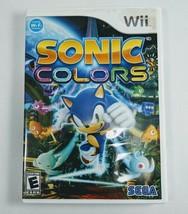 Sonic Colors (Nintendo Wii, 2010) - $8.59