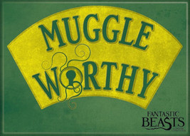 Fantastic Beasts Movie Muggle Worthy Refrigerator Magnet Harry Potter NE... - $3.99