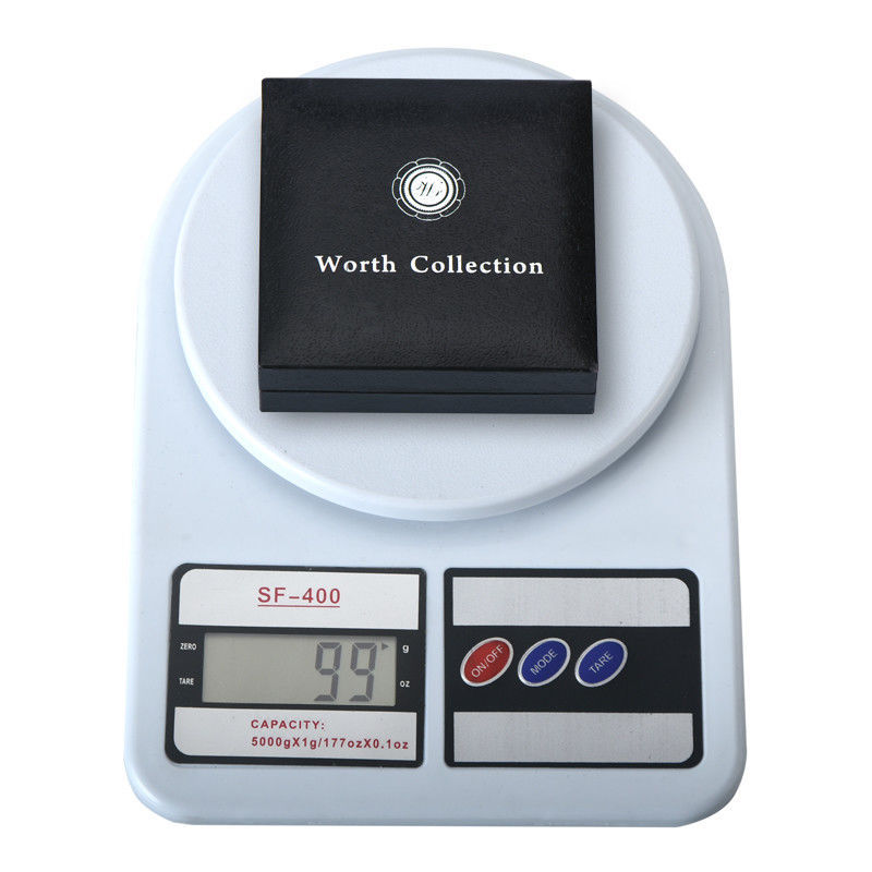 WR Collector's Presentation Box Single Coin Display Storage Case Holds 45mm Coin image 6
