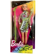 Barbie and The Rockers Microphone & Keytar 12'' Blonde Hair Doll Toy Age... - $16.99
