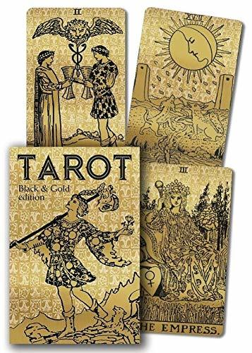Primary image for Tarot Black & Gold Edition [Cards] Waite, Arthur Edward and Smith, Pamela Colman