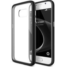 Galaxy S7 Case, VRS Design Crystal Mixx Black Clear Cover for Samsung S7... - $12.34
