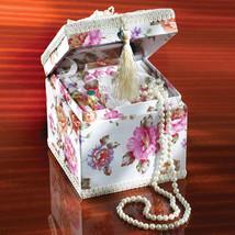 Pretty Pink Rose Jewelry Box - $14.01