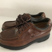 NEW TIMBERLAND SHOES CHUKKA GORETEX BROWN LEATHER SIZE 11.5 MODEL 41043 - $137.10 CAD