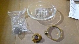 Ginger 612-3 Polished Brass Wall Mounted Soap Dish - $90.00