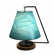Pendulum Shade Table Lamp in Sea Blue, 15 Inches Long x 12 Inches Wide x... - $249.99