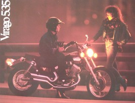 Yamaha Virago 535 Motorcycle Brochure, Original 11119-04-09 - $8.61